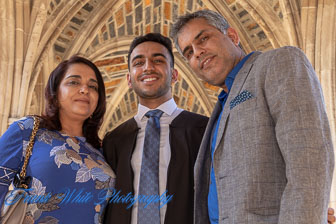 Gaurish Graduation Family Day