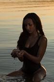 Jeneria Swimsuit Beach Shoot
